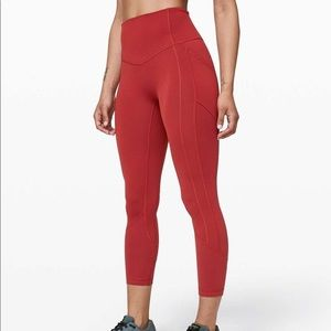 Lululemon all the right places ll 23' crop